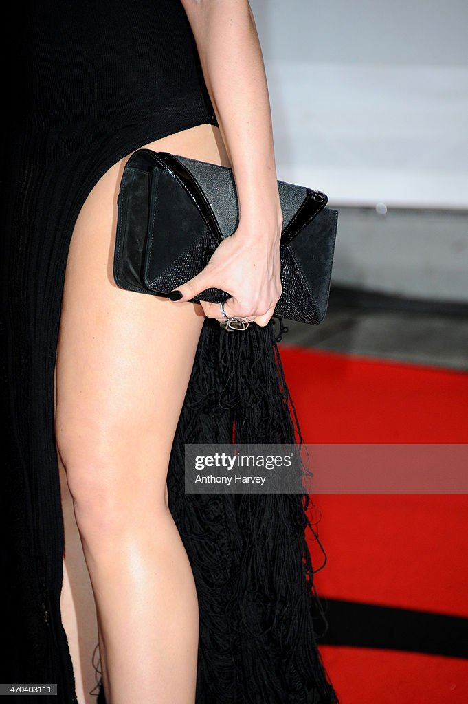 Model Daisy Lowe attends (detail) The BRIT Awards 2014 at 02 Arena on February 19, 2014 in London, England.
