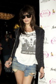 Model Daisy Lowe sighted at The Girly Show Lounge at Windmill International on July 24 2011 in London England
