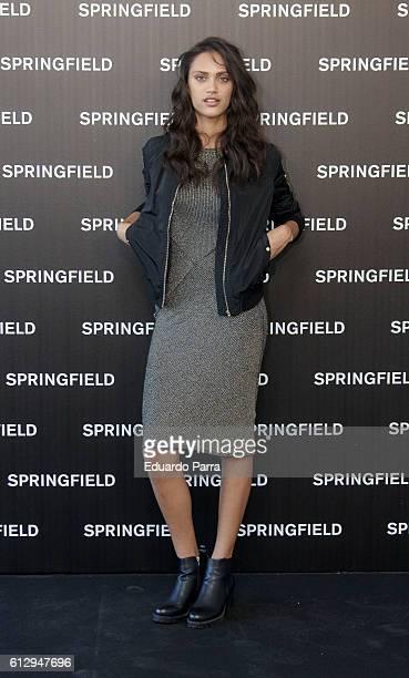Model Dalianah Arekion presents Springfield Christmas Commercial at Club Allard on October 6 2016 in Madrid Spain