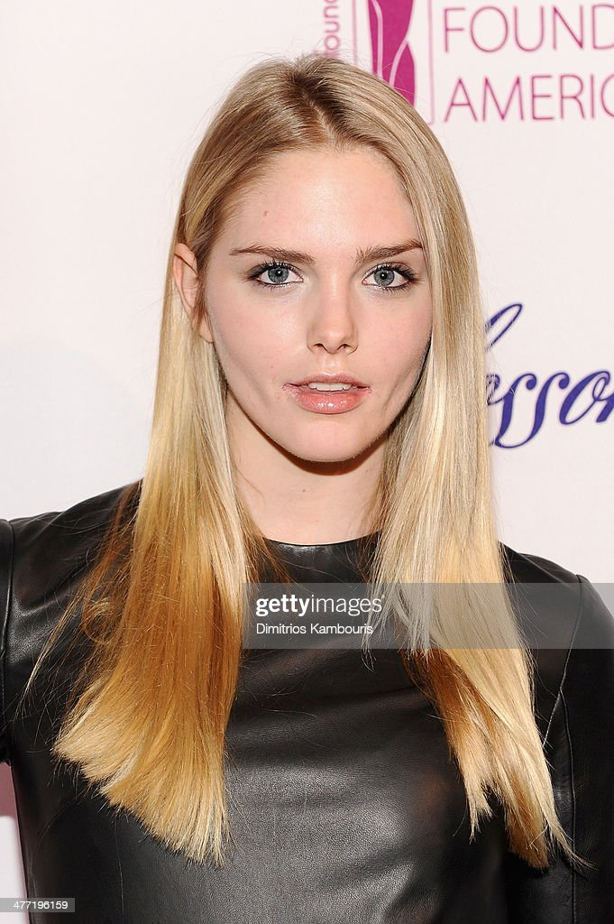 Model Dani Seitz attends the Endometriosis Foundation of America's 6th annual Blossom Ball hosted by Padma Lakshmi and Tamer Seckin, MD at 583 Park Avenue on March 7, 2014 in New York City.