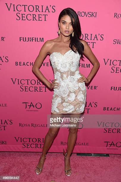 Model Daniela Braga attends the 2015 Victoria's Secret Fashion After Party at TAO Downtown on November 10 2015 in New York City