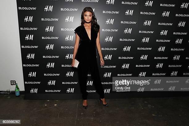 Model Daniela Braga attends the Blog Lovin' Awards at Industria Superstudio on September 12 2016 in New York City