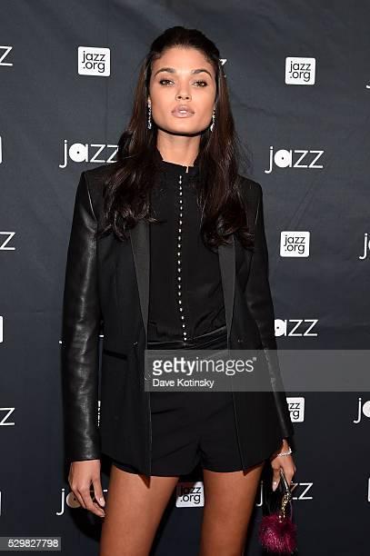 Model Daniela Braga attends the Jazz at Lincoln Center 2016 Gala 'Jazz and Broadway' honoring Diana and Joe Dimenna and Ahmad Jamal at Frederick P...
