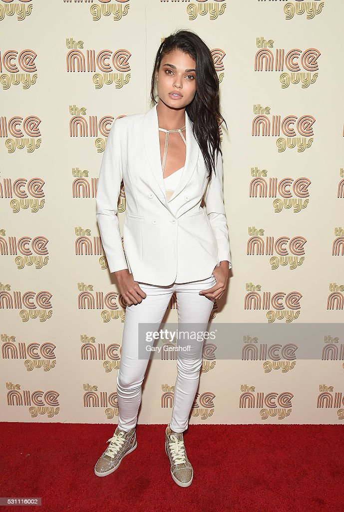 Model Daniela Braga attends 'The Nice Guys' New York screening at Metrograph on May 12, 2016 in New York City.