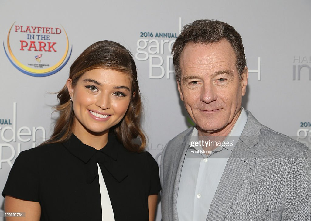 Model Daniela Lopez and actor <a gi-track='captionPersonalityLinkClicked' href=/galleries/search?phrase=Bryan+Cranston&family=editorial&specificpeople=217768 ng-click='$event.stopPropagation()'>Bryan Cranston</a> attend the Garden Brunch prior to the 102nd White House Correspondents' Association Dinner at the Beall-Washington House on April 30, 2016 in Washington, DC.