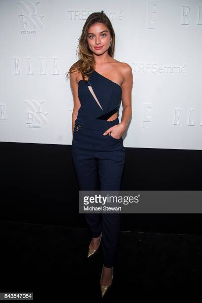 Model Daniela Lopez Osorio attends ELLE E IMG host A Celebration of Personal Style NYFW Kickoff Party on September 6 2017 in New York City
