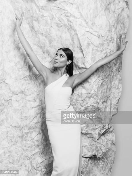 Model Daniela Lopez Osorio poses for a portrait during the Daily Front Row's Fashion Media Awards at Four Seasons Hotel New York Downtown on...