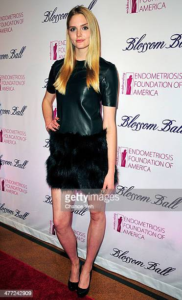 Model Danni Seitz attends 6th Annual Blossom Ball Benefiting Endometriosis Foundation Of America at 583 Park Avenue on March 7 2014 in New York City