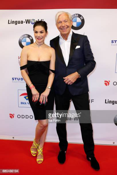 Model Dany Michalski and Jo Groebel attend the Victress Awards Gala on May 8 2017 in Berlin Germany