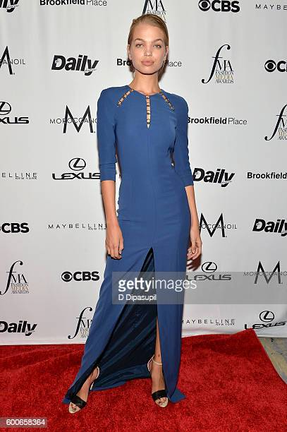 Model Daphne Groeneveld attends the The Daily Front Row's 4th Annual Fashion Media Awards at Park Hyatt New York on September 8 2016 in New York City