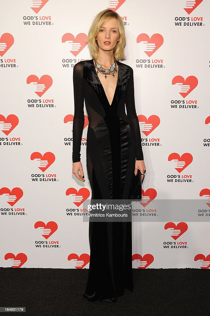 Model Daria Strokous attends God's Love We Deliver 2013 Golden Heart Awards Celebration at Spring Studios on October 16, 2013 in New York City.