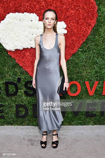 Model Daria Strokous attends God's Love We Deliver Golden Heart Awards on October 16 2014 in New York City