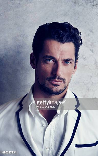 Model David Gandy is photographed for GQ Taiwan on February 1 2014 in New York City COVER IMAGE