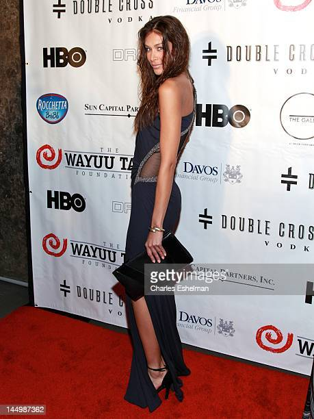 Model Dayana Mendoza attends 10th Anniversary Wayuu Taya gala at Dream Downtown on May 21 2012 in New York City
