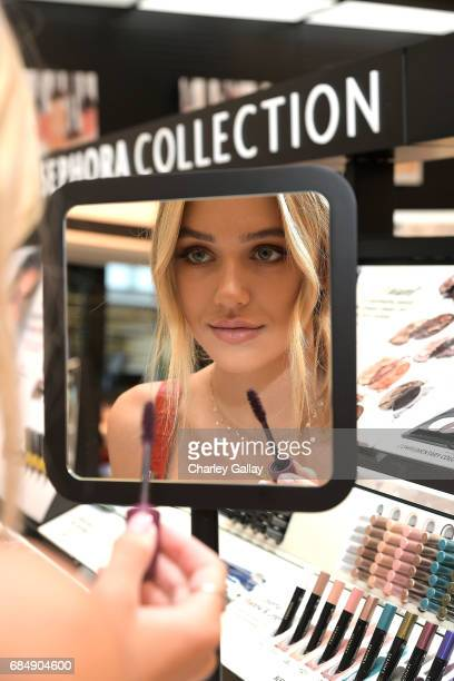 Model Delilah Belle Hamlin attends the Sephora Century City Store Opening on May 18 2017 in Los Angeles California
