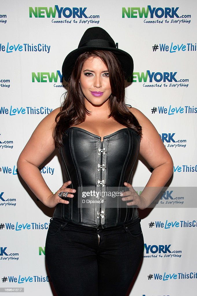 Model Denise Bidot attends the NewYork.com launch party at Arena on May 29, 2013 in New York City.