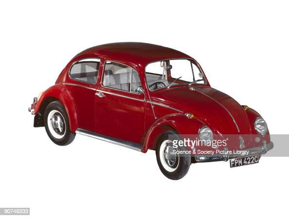 Model Designed by Ferdinand Porsche and championed by Adolf Hitler the Volkswagen Beetle was intended to be a cheap motor car for the German worker...