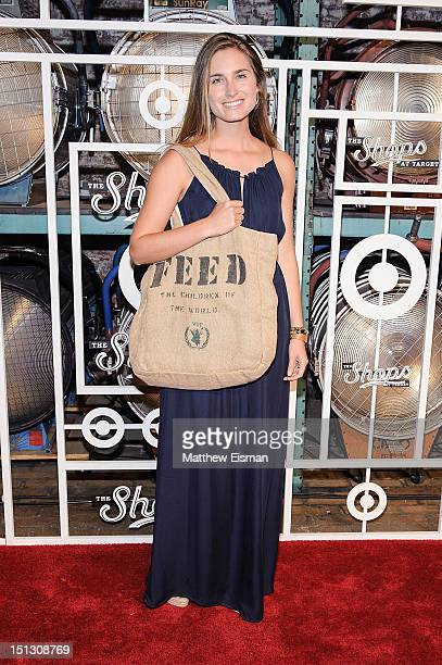 Model/ designer Lauren Bush Lauren celebrates The Fall Installment Of The Shops At Target at Highline Stages on September 5 2012 in New York City