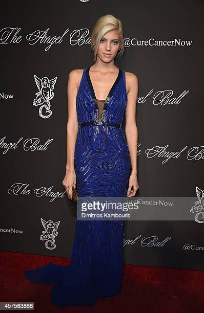 Model Devon Windsor attends Angel Ball 2014 hosted by Gabrielle's Angel Foundation at Cipriani Wall Street on October 20 2014 in New York City