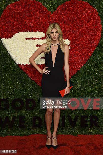 Model Devon Windsor attends God's Love We Deliver Golden Heart Awards at Spring Studio on October 15 2015 in New York City