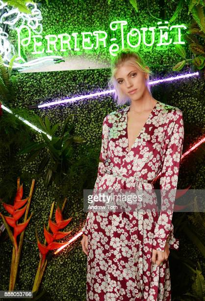 Model Devon Windsor attends PerrierJouet Celebrates Exclusive Nightlife Experience at Ora Nightclub on December 7 2017 in Miami Beach Florida