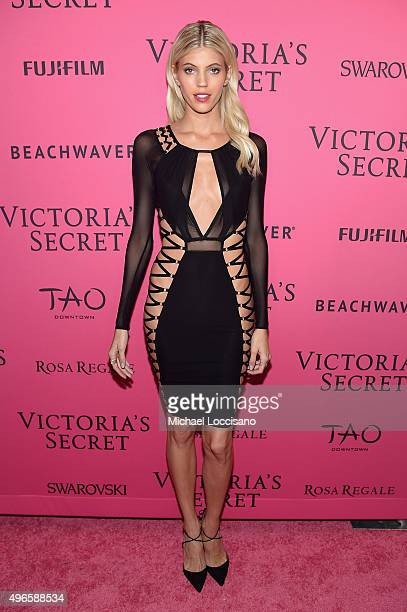 Model Devon Windsor attends the 2015 Victoria's Secret Fashion After Party at TAO Downtown on November 10 2015 in New York City