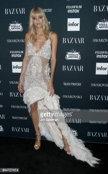 Model Devon Windsor attends the 2017 Harper's Bazaar Icons at The Plaza Hotel on September 8 2017 in New York City