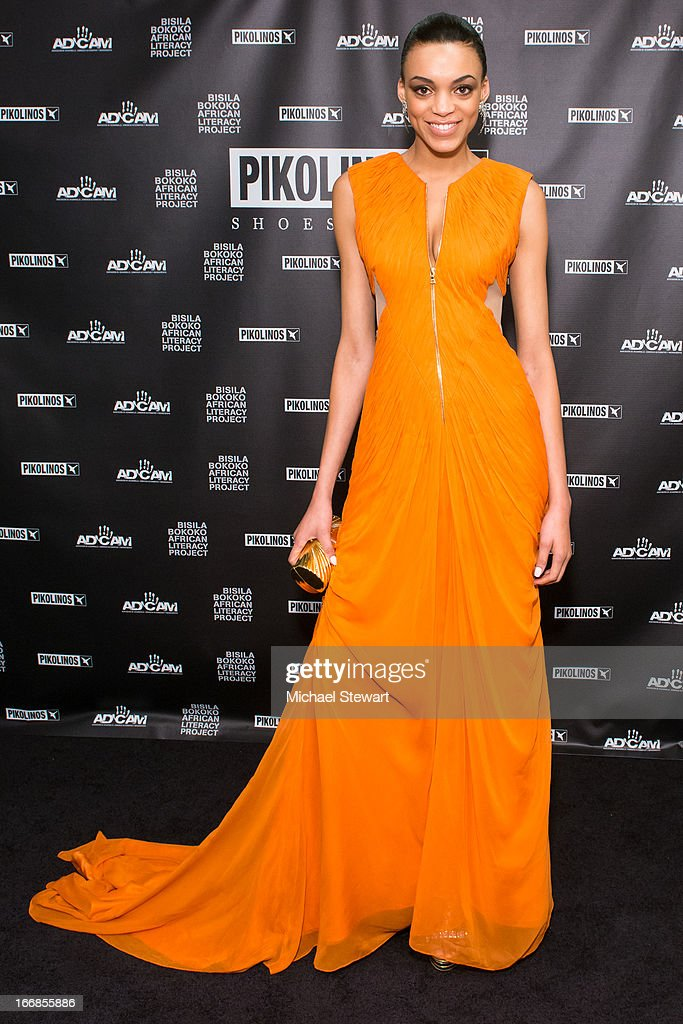 Model Devyn Abdullah attends the 2013 Pikolinos Gala Dinner at the United Nations on April 17, 2013 in New York City.