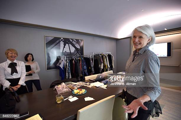 Model dietician and mother of Elon Musk Maye Musk is photographed for the New York Times on April 11 2016 in New York City Musk is photographed with...