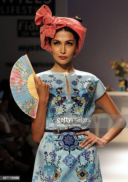 Wills Lifestyle India Fashion Week Stock Photos And