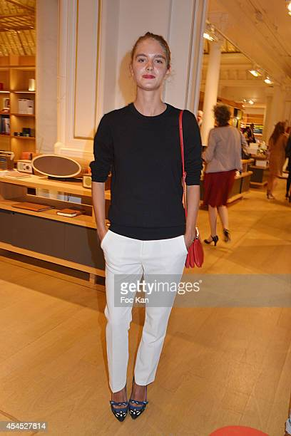 Model Dolores Doll attends the 'Japan Rive Gauche' Exhibition Preview at Le Bon Marche on September 2 2014 in Paris France