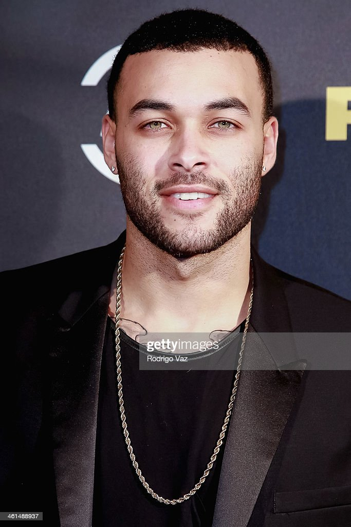 Model Don Benjamin attends the ADD Comedy Live! Special Screening of 'Ride Along' on January 8, 2014 in Los Angeles, California.