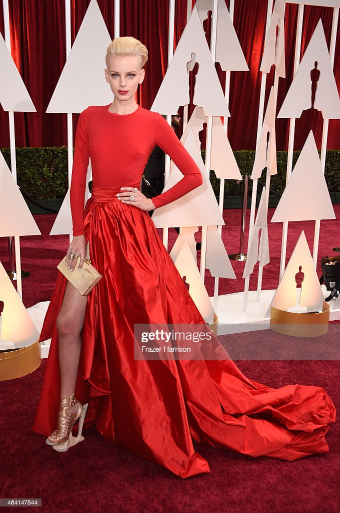 Model Dorith Mous attends the 87th Annual Academy Awards at Hollywood & Highland Center on February 22, 2015 in Hollywood, California.
