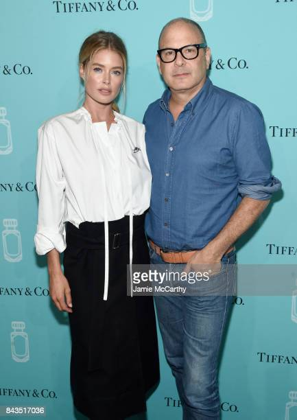 Model Doutzen Kroes and Reed Krakoff attend the Tiffany Co Fragrance launch event on September 6 2017 in New York City