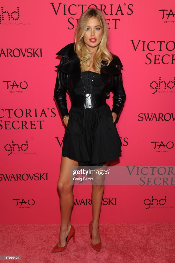 Model Doutzen Kroes attends the 2013 Victoria's Secret Fashion after party at TAO Downtown on November 13, 2013 in New York City.