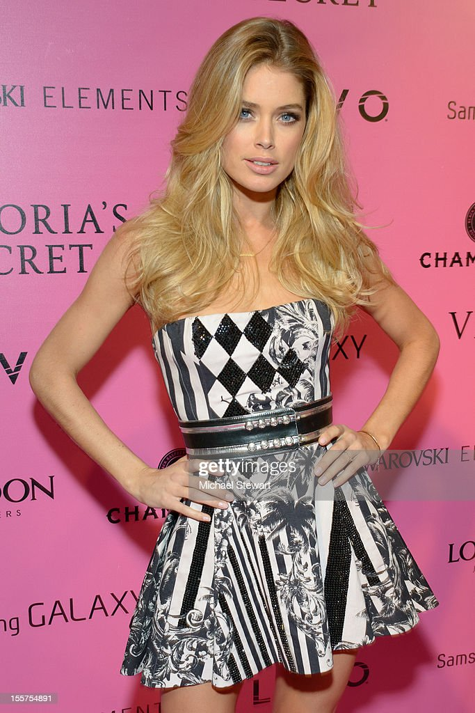 Model Doutzen Kroes attends the after party for the 2012 Victoria's Secret Fashion Show at Lavo NYC on November 7, 2012 in New York City.