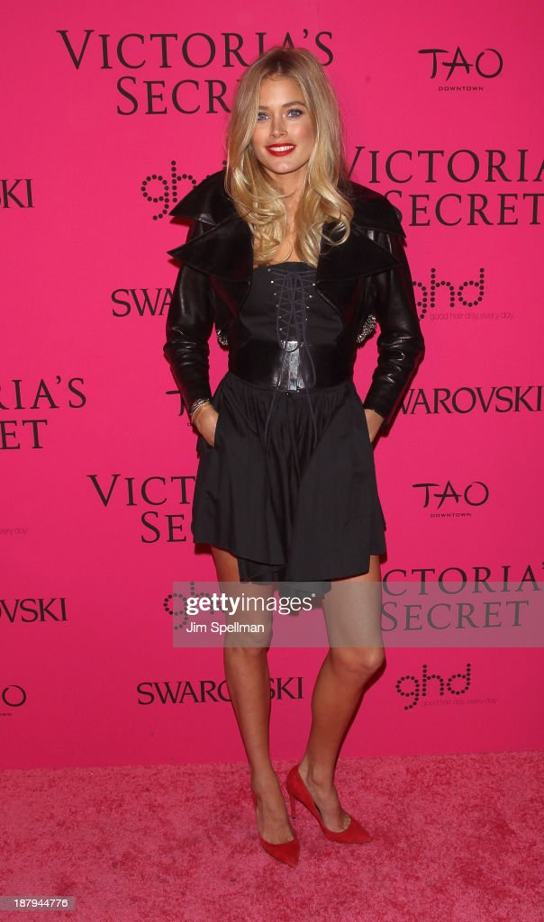 Model <a gi-track='captionPersonalityLinkClicked' href=/galleries/search?phrase=Doutzen+Kroes&family=editorial&specificpeople=859655 ng-click='$event.stopPropagation()'>Doutzen Kroes</a> attends the after party for the 2013 Victoria's Secret Fashion Show at TAO Downtown on November 13, 2013 in New York City.