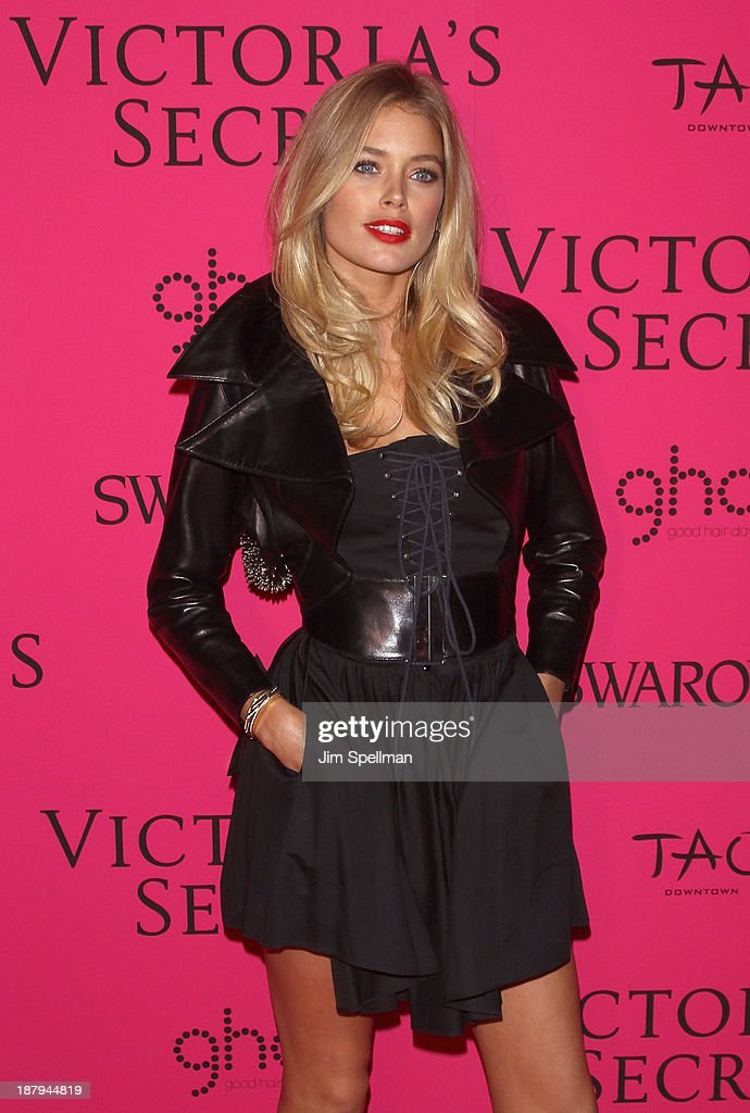 Model Doutzen Kroes attends the after party for the 2013 Victoria's Secret Fashion Show at TAO Downtown on November 13, 2013 in New York City.