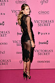 Model Doutzen Kroes attends the after party for the annual Victoria's Secret fashion show at Earls Court on December 2 2014 in London England