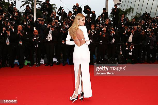 Model Doutzen Kroes attends the 'Jimmy P ' Premiere during the 66th Annual Cannes Film Festival at the Palais des Festivals on May 18 2013 in Cannes...
