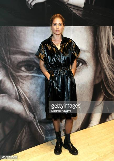Model Doutzen Kroes attends The Pirelli Calendar Presents Peter Lindbergh On Beauty at Cipriani Wall Street on February 13 2017 in New York City