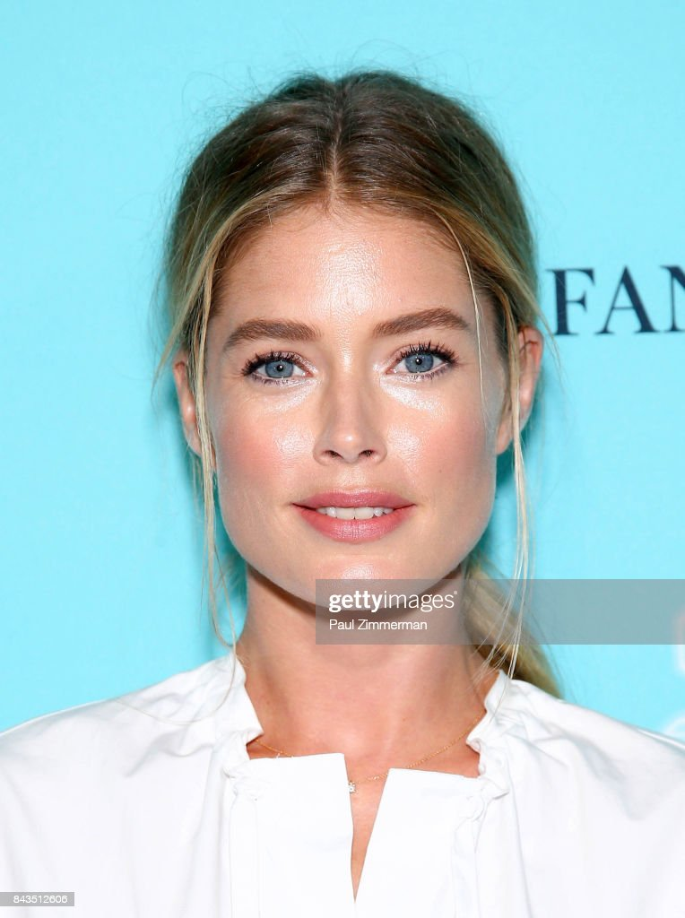 Model Doutzen Kroes attends the Tiffany & Co. Fragrance Launch at Highline Stages on September 6, 2017 in New York City.