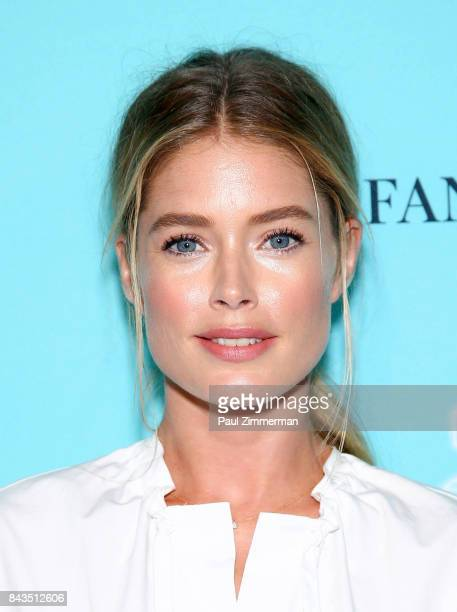 Model Doutzen Kroes attends the Tiffany Co Fragrance Launch at Highline Stages on September 6 2017 in New York City
