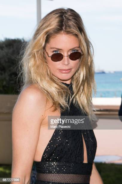 Model Doutzen Kroes is spotted during the 70th annual Cannes Film Festival at on May 23 2017 in Cannes France
