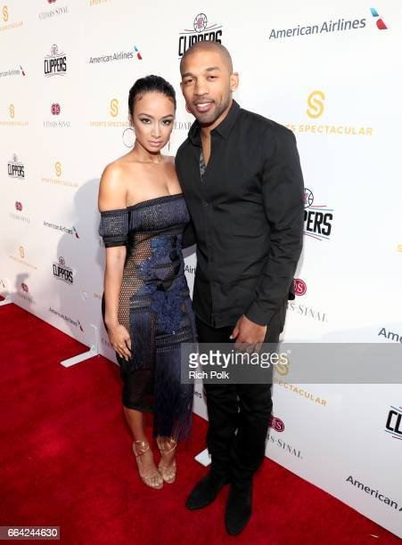 Model Draya Michele and NFL player Orlando Scandrick attend 32nd Annual CedarsSinai Sports Spectacular at W Los Angeles Westwood on April 3 2017 in...