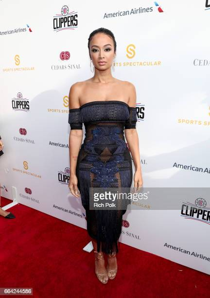 Model Draya Michele attends 32nd Annual CedarsSinai Sports Spectacular at W Los Angeles Westwood on April 3 2017 in Los Angeles California