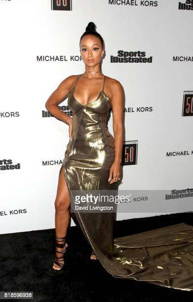 Model Draya Michele attends Sports Illustrated Fashionable 50 at Avenue on July 18 2017 in Los Angeles California