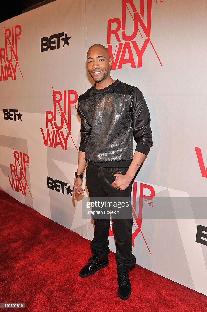 Model Dre King attends BET's Rip The Runway 2013:Red Carpet at Hammerstein Ballroom on February 27, 2013 in New York City.