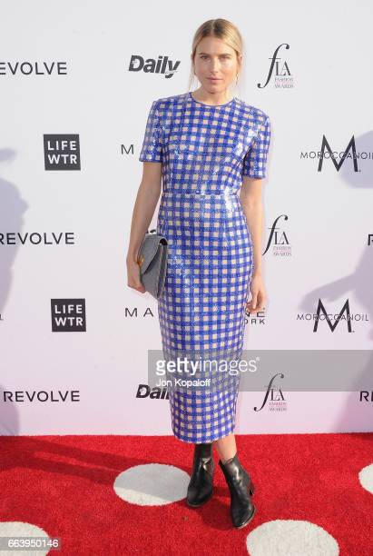 Model Dree Hemingway arrives at the Daily Front Row's 3rd Annual Fashion Los Angeles Awards at the Sunset Tower Hotel on April 2 2017 in West...