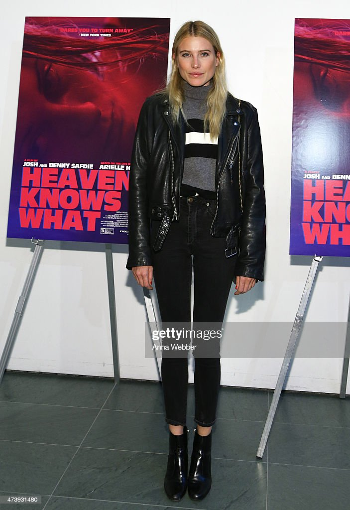 Model Dree Hemingway arrives to the 'Heaven Knows What' New York Premiere at the Celeste Bartos Theater at the Museum of Modern Art on May 18, 2015 in New York City.